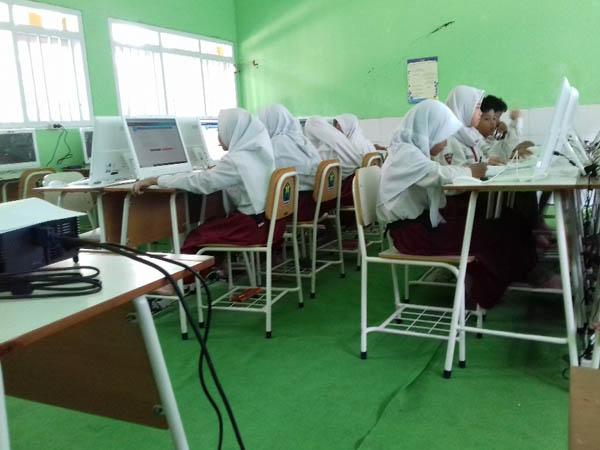 Laboratorium Komputer SDN Pandanwangi 5 Kota Malang